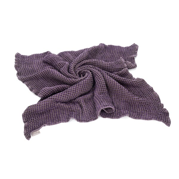 Fid-KD - Fidella® Cuddly blanket - cotton - violet grey - 110 x...
