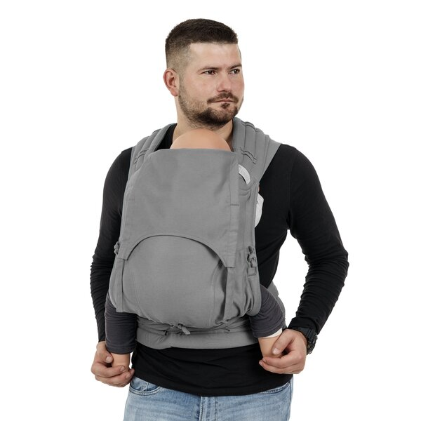 Fid-FT-TS-2164 - Fidella® Fly Tai - Mei Tai Baby Carrier - Chevron - light...