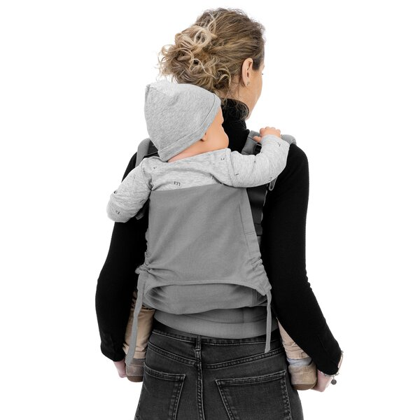 Fidella® Fusion 2.0 - Fullbuckle baby carrier - Chevron - light gray - Toddler