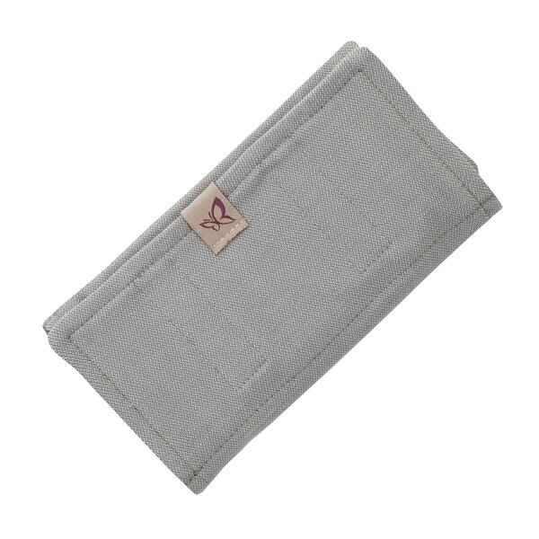 Fid-PAD-2164 - Fidella® Suck Pad for baby carriers - Chevron - light gray
