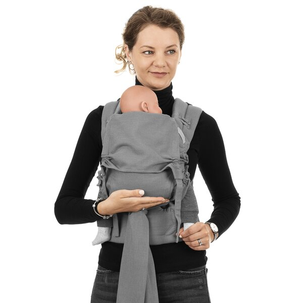 Fid-FC-BS-2164 - Fidella® FlowClick - Halfbuckle Baby Carrier - Chevron -...