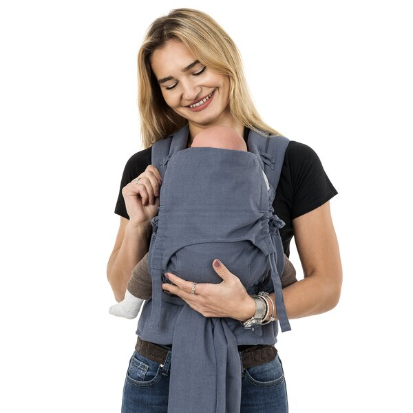 Fid-FC-BS-2140 - Fidella® FlowClick - Halfbuckle Baby Carrier - Chevron -...