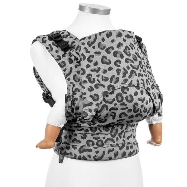 Fidella® Fusion - Fullbuckle baby carrier - Leopard - silver - Baby