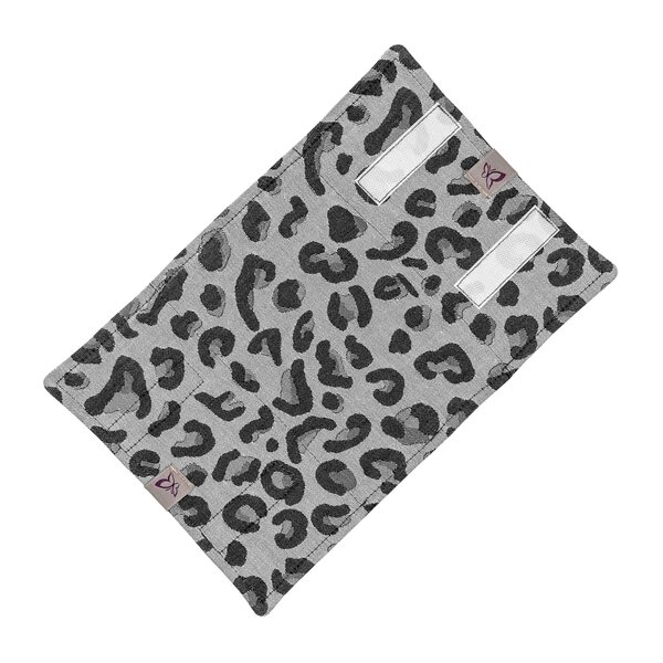 Fidella® Suck Pad for baby carriers - Leopard - silver