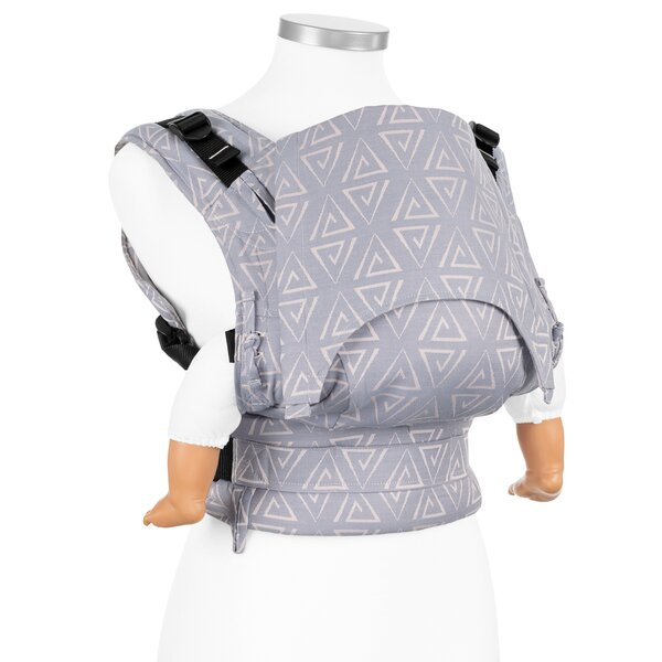 Fidella® Fusion - Fullbuckle baby carrier - Paperclips - ash blue - Baby