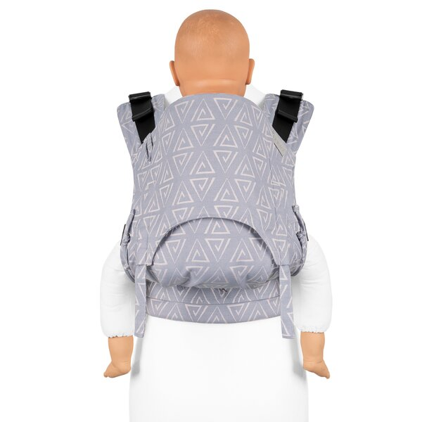 Fidella® Fusion 2.0 - Fullbuckle baby carrier - Paperclips - ash blue - Toddler