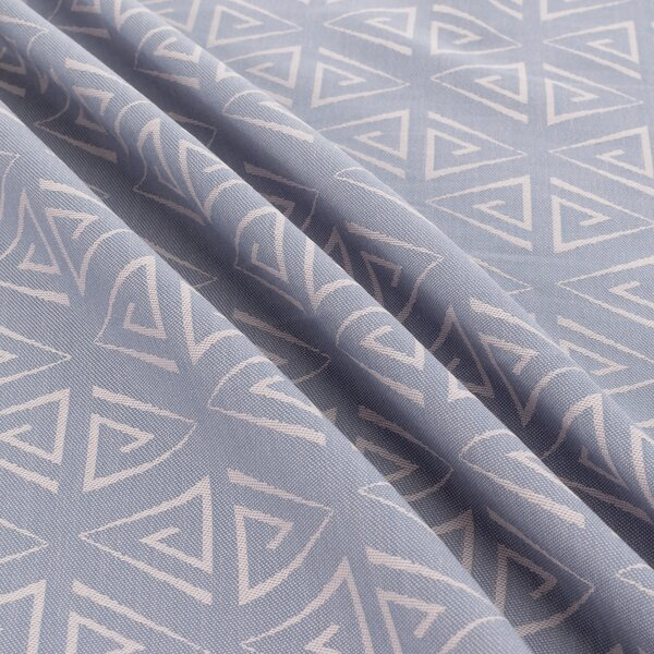 Fidella® Baby Wrap - Paperclips - ash blue - size 6 - 460 cm