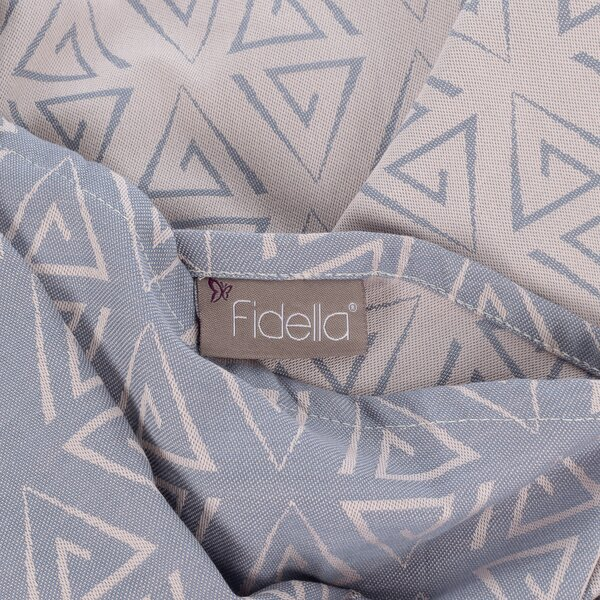 Fidella® Ring Sling - Paperclips - aschblau