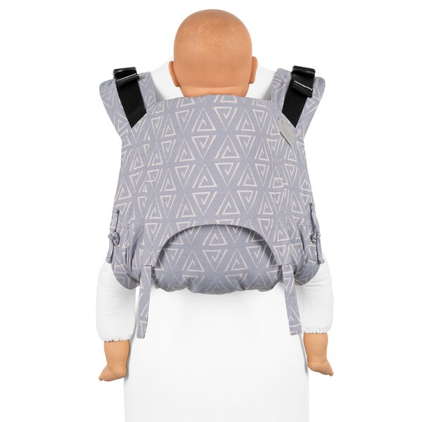 Fidella® Onbuhimo V2 - Back Carrier - Paperclips - ash blue - Toddler