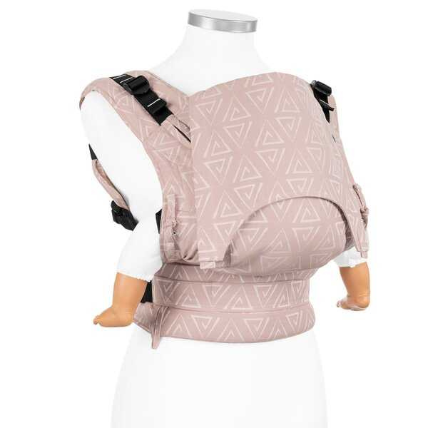 Fidella® Fusion - Fullbuckle baby carrier - Paperclips - ash rose - Baby