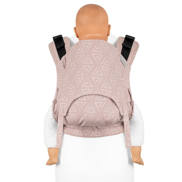 Fidella® Fusion 2.0 - Fullbuckle baby carrier - Paperclips - ash rose - Toddler