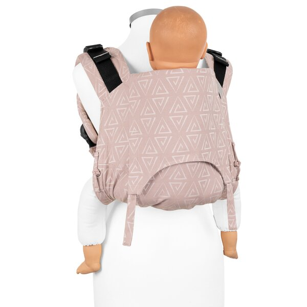 Fidella® Onbuhimo V2 - Back Carrier - Paperclips - ash rose - Toddler