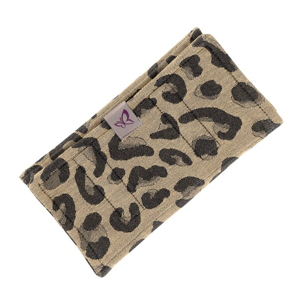 Fid-PAD-2162 - Fidella® Suck Pad for baby carriers - Leopard - gold