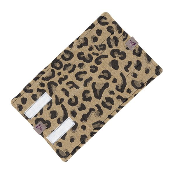 Fidella® Suck Pad for baby carriers - Leopard - gold