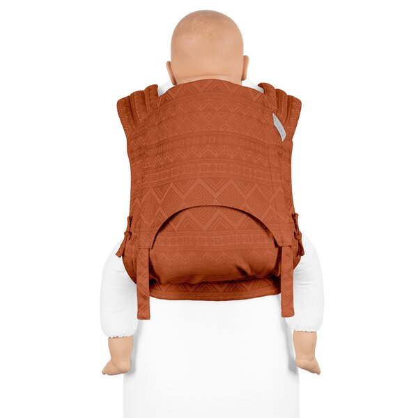 Fid-FT-TS-2171 - Fidella® Fly Tai - Mei Tai Baby Carrier - Cubic Lines -...