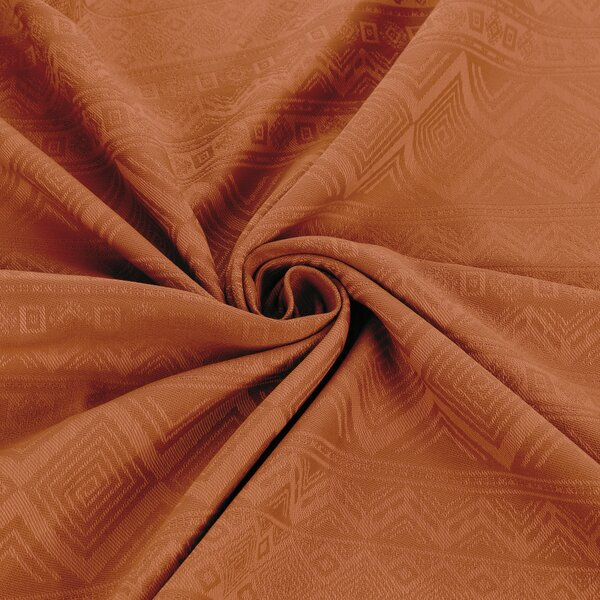 Fidella® Ring Sling - Cubic Lines - rustred