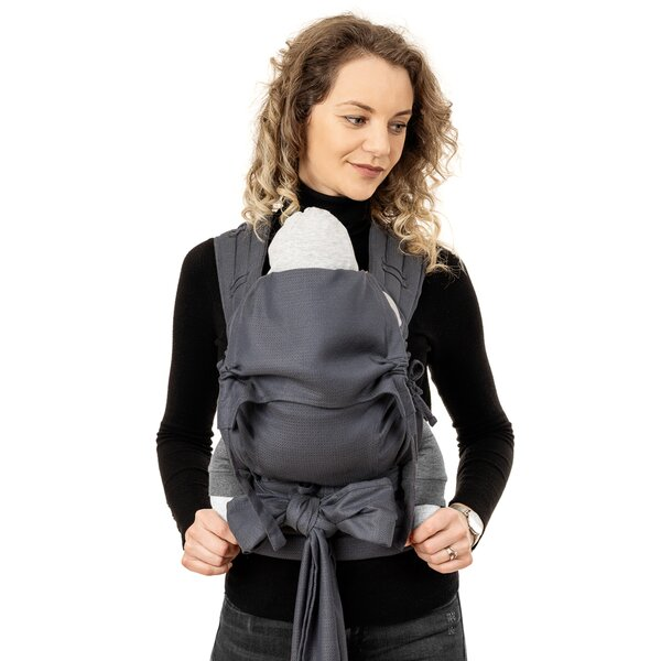 Fid-FT-BS-2173 - Fidella® Fly Tai - Mei Tai Baby Carrier - Diamonds -...