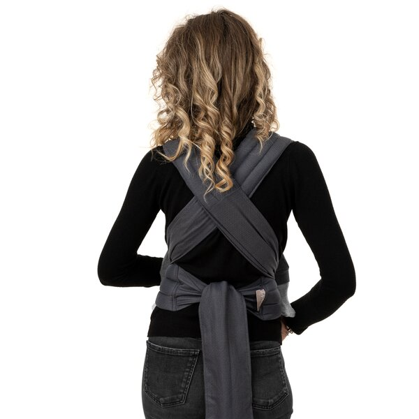Fidella® Fly Tai - Mei Tai Baby Carrier - Diamonds - anthracite - Baby