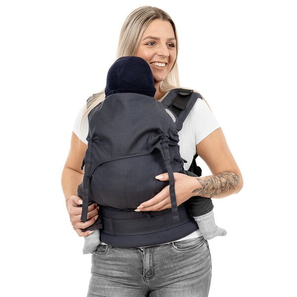 Fidella® Fusion 2.0 - Fullbuckle baby carrier - Diamonds - anthracite - Toddler