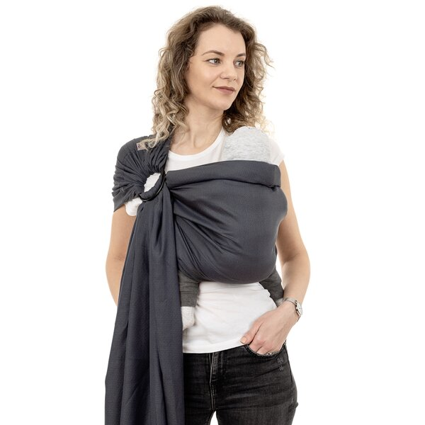 Fidella® Ring Sling - Diamonds - anthrazit