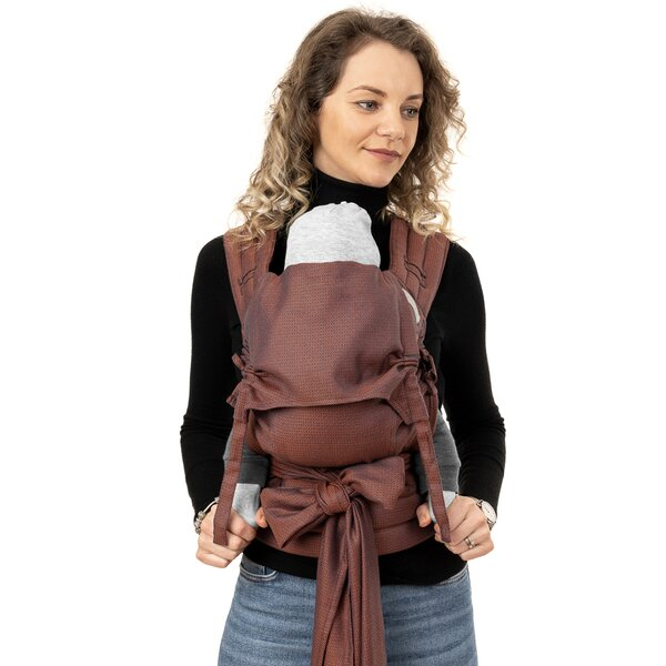 Fid-FT-BS-2174 - Fidella® Fly Tai - Mei Tai Baby Carrier - Diamonds -...