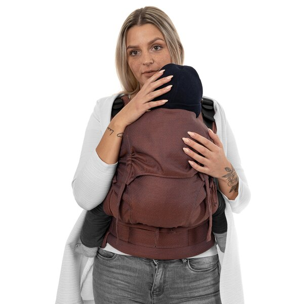 Fidella® Fusion 2.0 - Fullbuckle baby carrier - Diamonds - rustred - Toddler