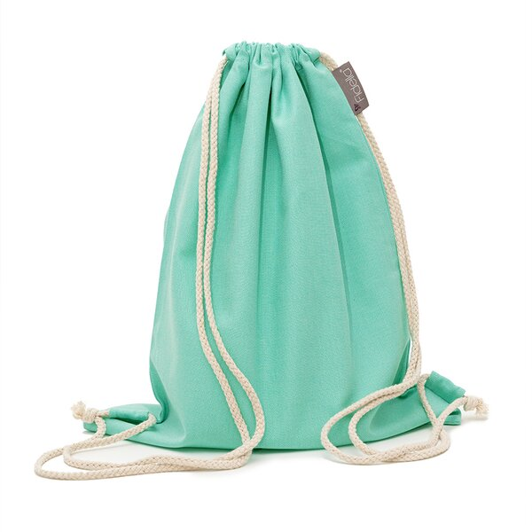 Fid-DB-2175 - Fidella® DayBag - Chevron - turquoise menthe