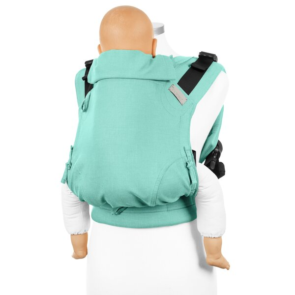 Fidella® Fusion 2.0 - Fullbuckle baby carrier - Chevron - mint - Toddler