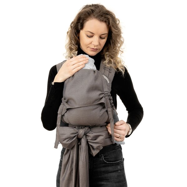 Fid-FT-BS-2172 - Fidella® Fly Tai - Mei Tai Baby Carrier - Diamonds -...
