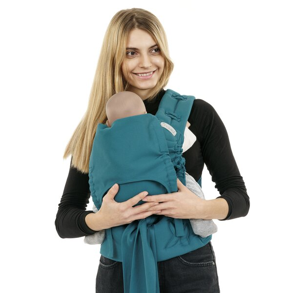 Fid-FC-BS-2180 - Fidella® FlowClick - Halfbuckle Baby Carrier - Chevron -...