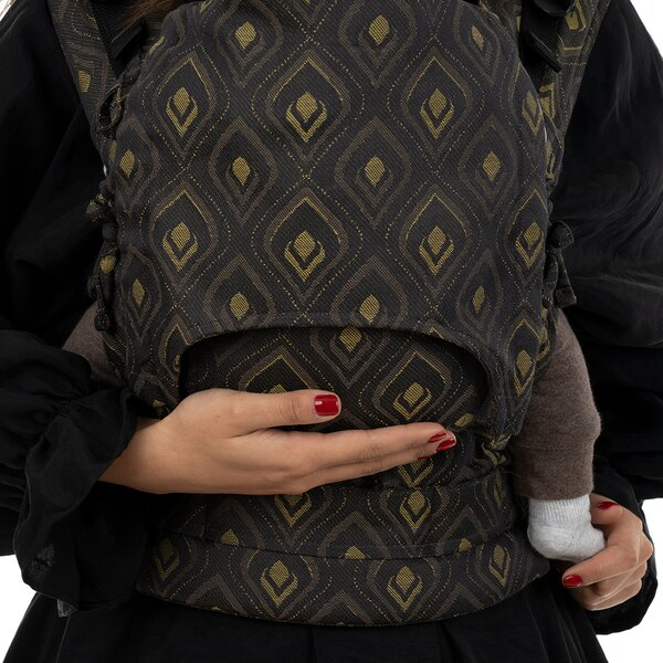 Fidella® Fusion - Fullbuckle baby carrier - Peacock - midnight gold - Baby