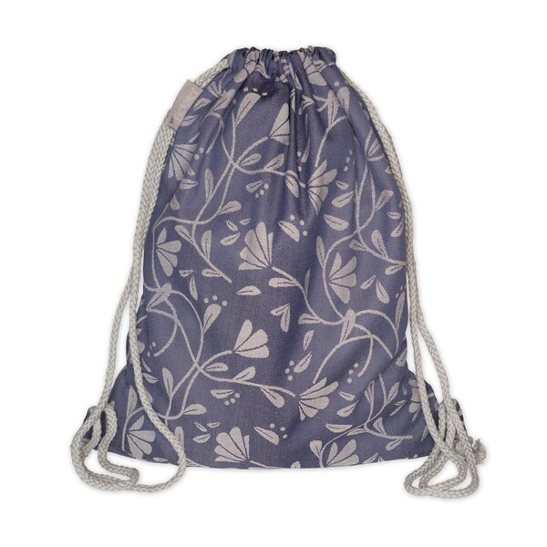 Fid-DB-2184 - Fidella® DayBag - Floral Touch - eclipse bleu
