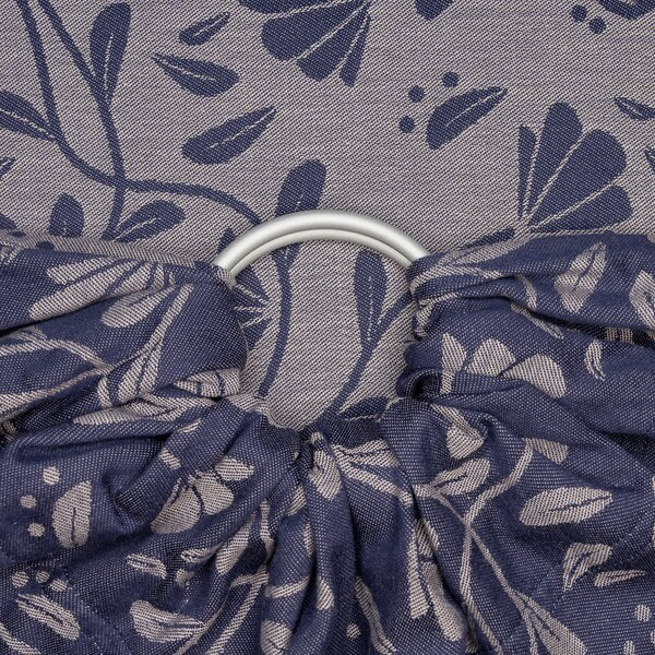 Fid-jc-2184-0006 - Fidella® Ring Sling - Floral Touch - eclipse blue