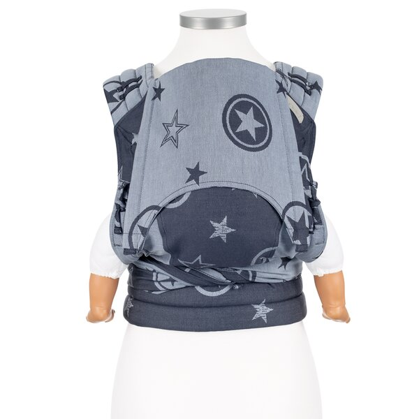 Fidella® Fly Tai - Mei Tai Baby Carrier - Outer Space - blue - Baby