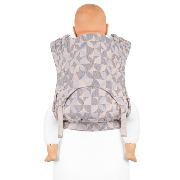 Fid-FT-TS-2058 - Fidella® Fly Tai - Mei Tai Baby Carrier - Kaleidoscope -...