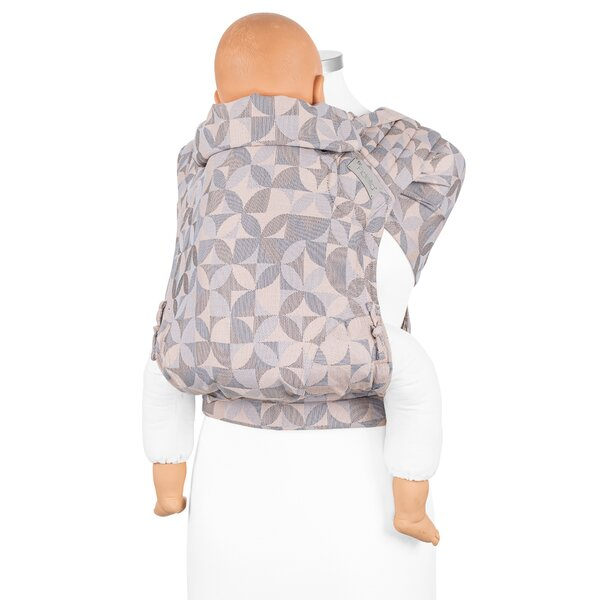 Fidella® Fly Tai - Mei Tai Baby Carrier - Kaleidoscope - sand - Toddler