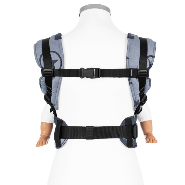 Baby size: Fidella Fusion baby carrier with buckles Outer Space -blue-
