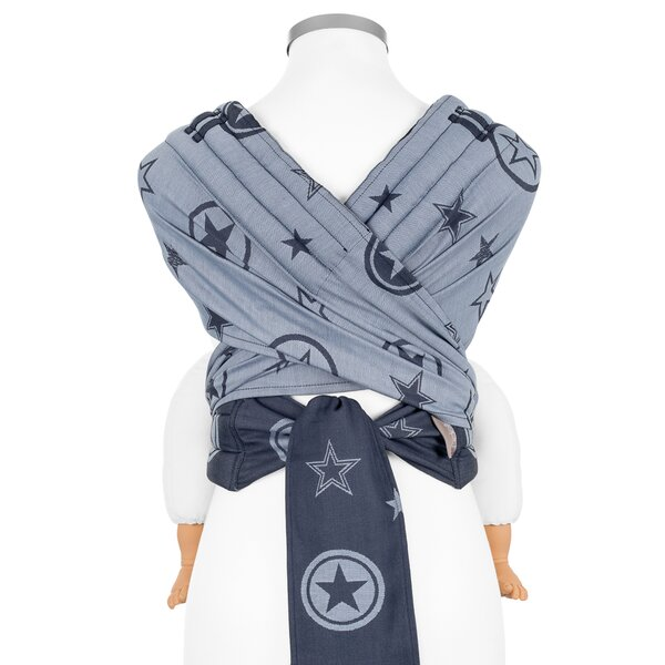Toddler Size: Fidella Fly Tai Tragehilfe - Outer Space blau