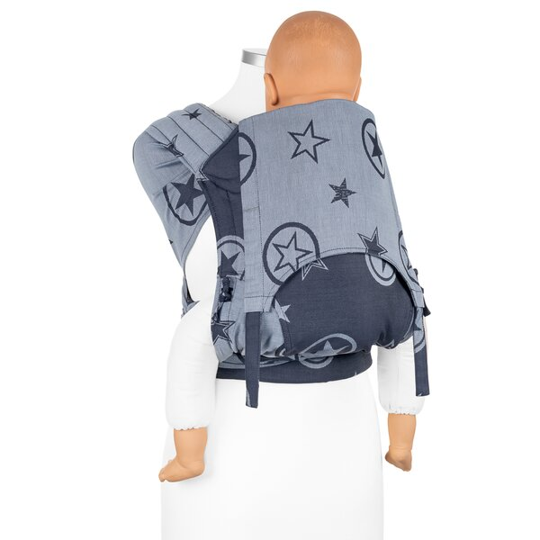 Fidella® Fly Tai - Mei Tai Tragehilfe - Outer Space blue - Toddler