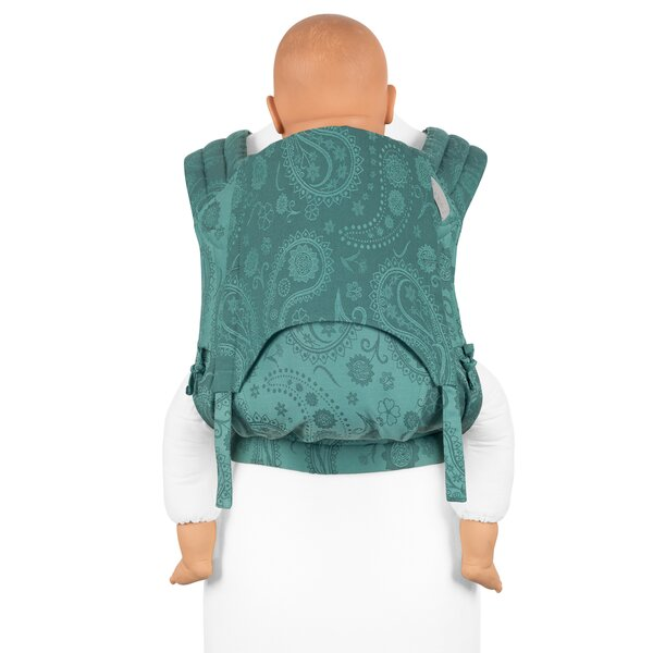 Fid-FT-TS-2050 - Fidella® Fly Tai - Mei Tai Baby Carrier - Persian Paisley...