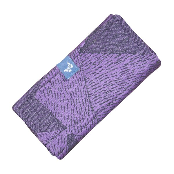 Fid-PAD-2106 - Fidella suck pad for baby carriers - Tangram Art -purple-