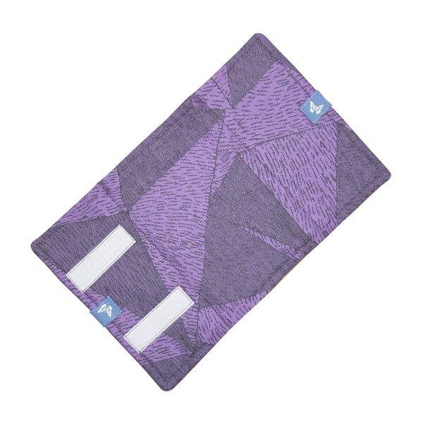 Fidella suck pad for baby carriers - Tangram Art -purple-