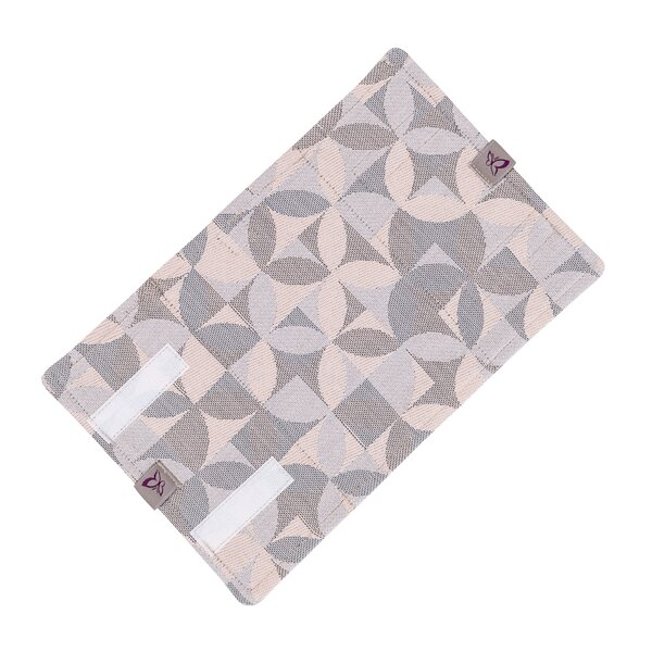 Fidella® Suck Pad for baby carriers - Kaleidoscope - sand