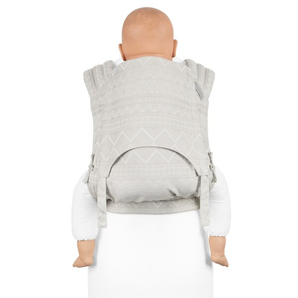 Fid-FT-TS-2126 - Fidella® Fly Tai - Mei Tai Baby Carrier - Cubic Lines -...