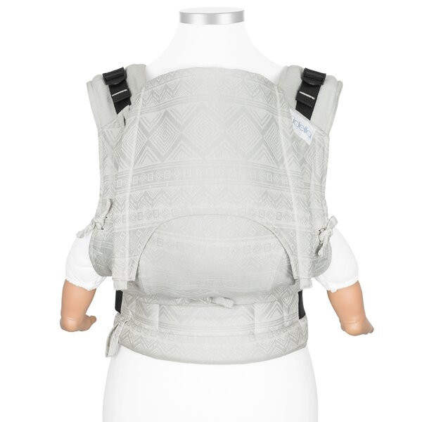 Fid-FU-BS-2126 - Fidella® Fusion - Full-Buckle Baby Carrier - Cubic Lines...