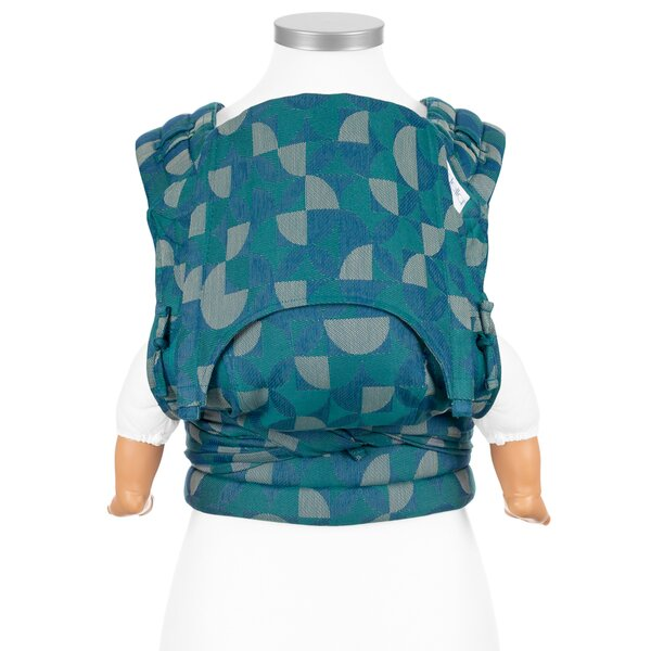Fid-FT-BS-2134 - Fidella® Fly Tai - Mei Tai Baby Carrier - Kaleidoscope -...