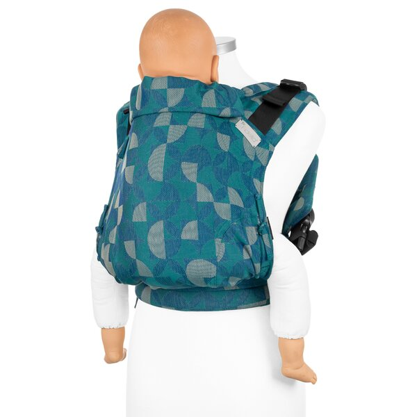 Fidella® Fusion 2.0  Full-Buckle Baby Carrier - Kaleidoscope - ocean teal - Toddler