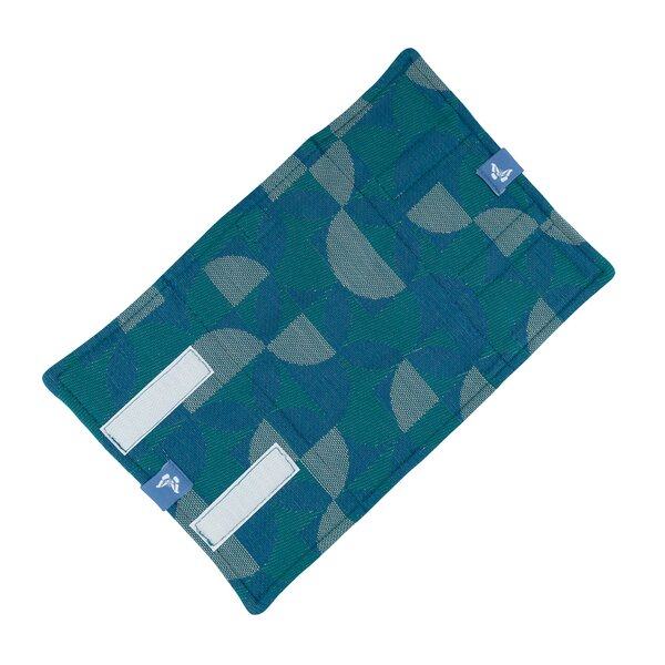 Fidella® Suck Pad for baby carriers - Kaleidoscope - ocean teal