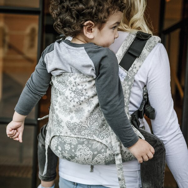 Fidella® Fusion 2.0 - Full-Buckle Baby Carrier - Iced Butterfly - smoke - Toddler