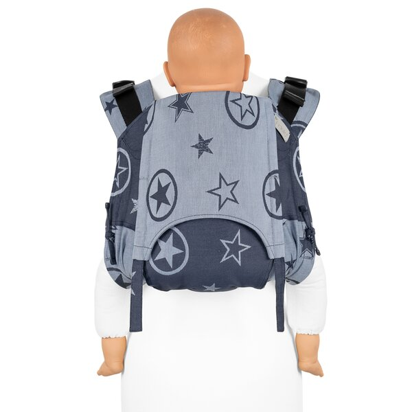 Fid-OB-V2-2008 - Fidella® Onbuhimo V2 - Back Carrier - Outer Space - blue...